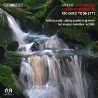 Grieg: Music for String Orchestra - Tognetti