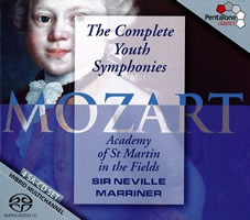 Mozart: The Complete Youth Symphonies - Marriner
