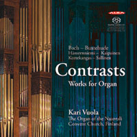Contrasts, Works for Organ - Vuola