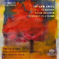 Grieg: Piano Concerto, Symphony, In Autumn - Ogawa / Ruud